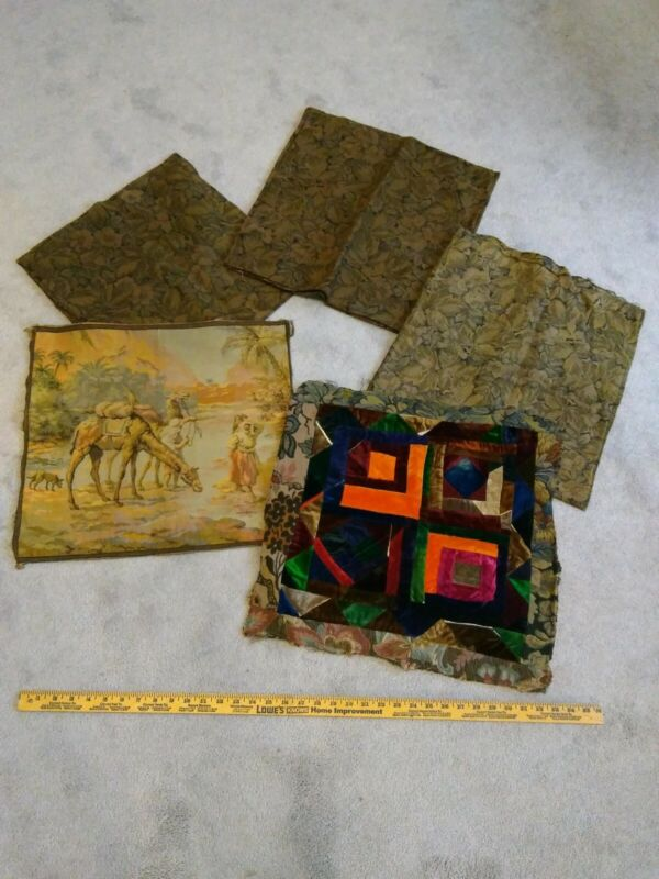 Vintage Throw Pillow Covers 1920s?   Fabrics