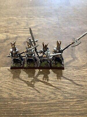 Warhammer High Elf Phoenix Guard X 4 Games Workshop Metal Painted. #795 segunda mano  Embacar hacia Argentina