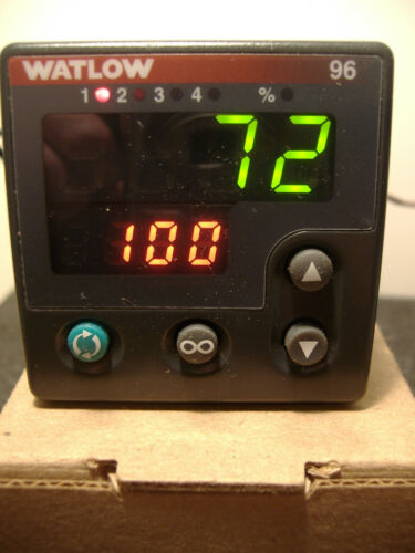 Watlow 96A1-CCAA-00GR TEMPERATURE CONTROLLER, 100-240 VAC