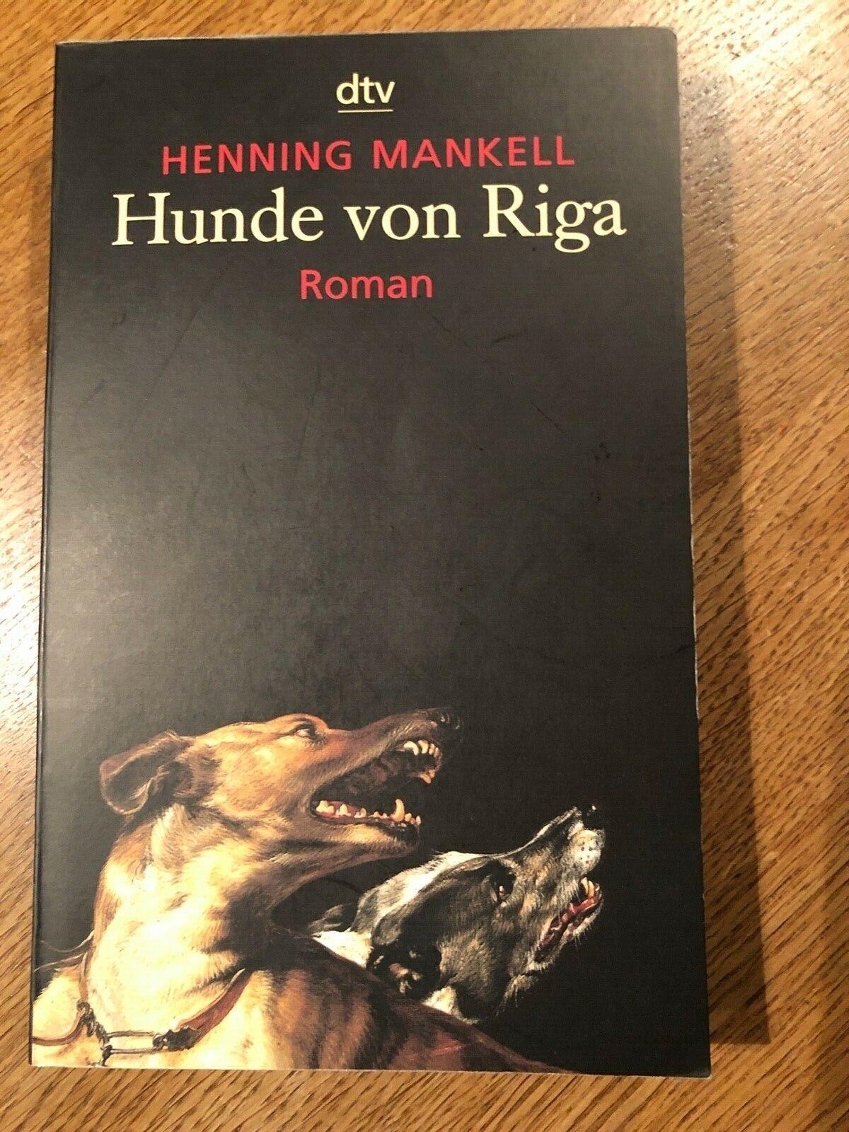 Hunde von Riga, Henning Mankell
