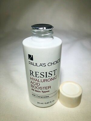 Paula's Choice RESIST HYALURONIC ACID BOOSTER 0.67 oz SEALED No Box FREE S/H
