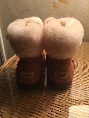 Kids Ugg Boots Zip Up Girl Toddler Size 8