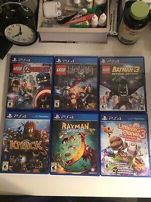 PS4 Game Bundle of 6