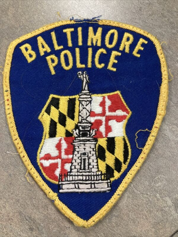 VINTAGE BALTIMORE CITY POLICE  Patch COLLECTIBLE