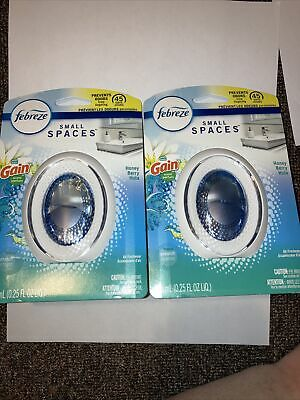 FEBREZE Small Spaces GAIN HONEY BERRY HULA Air Fresheners Lot of 2