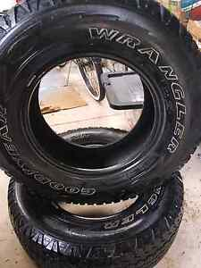 Tyres 4x4 Hilux,Triton,etc Ocean Grove Outer Geelong Preview