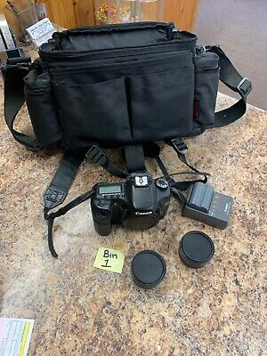Canon EOS 40D 10.1MP Digital SLR Camera - Black (Body Only) + Lots of extras