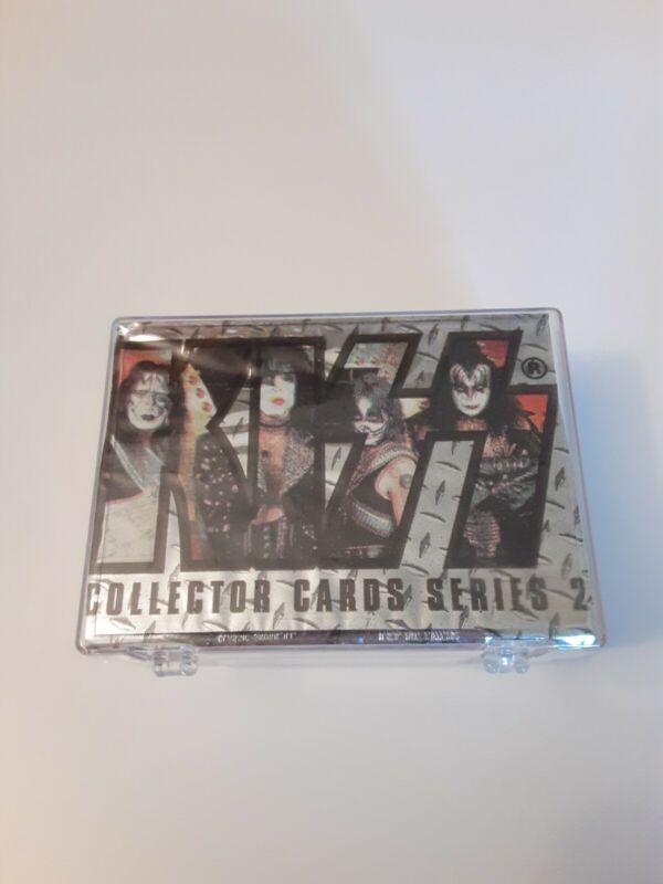 1998 KISS COLLECTOR CARDS SERIES  2 COMPLETE SET CARDS 1-180 SILVER FOIL