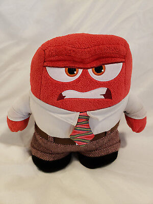"Disney Pixar Inside Out Plush ""Anger"" 9 1/2"" Disney Store Authentic SHIPS FREE!"