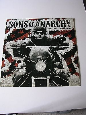 Recent Vintage SONS OF ANARCHY 2014 Wall Calendar