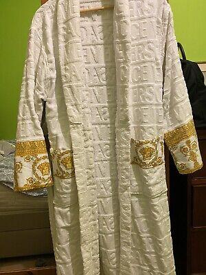 Versace White Robe