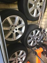 Wheels Rims x4 Nissan 350Z Baulkham Hills The Hills District Preview