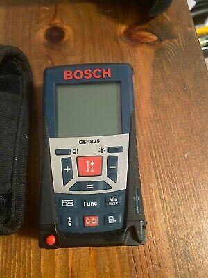 Bosch Glr-825 Laser Distance Measurer Meter 820ft Range