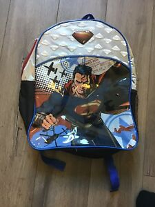 Brand new super man backpack