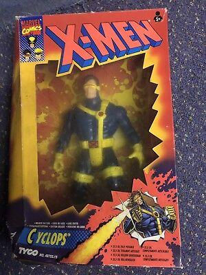 """X-Men Cyclops Figure Deluxe Edition 10"""" Tyco 1993 MISB"""