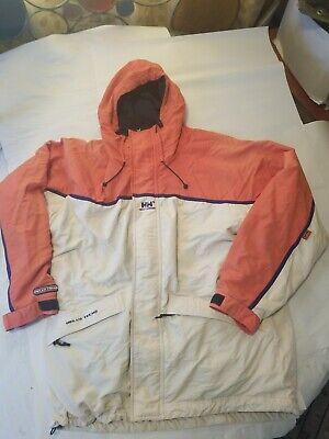 Helly Hansen Helly Tech Rain Jacket Men's Sz L Waterproof Packable