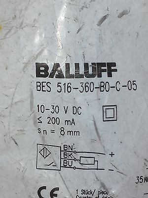 Balluff Bes 516-360-b0-c-05 Proximity Switch