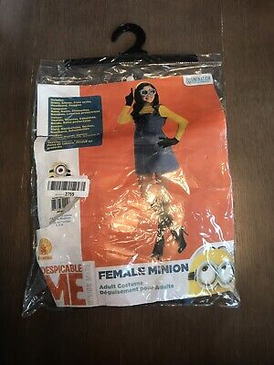Female Minion Halloween Costume Adult Despicable Me Size SP