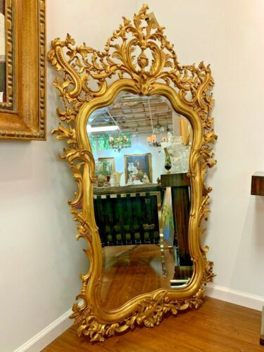 French Style Gold Leaf Mirror