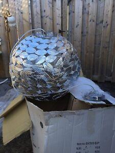 Lumière plafonnier de 20 pouce diamètre en aluminium