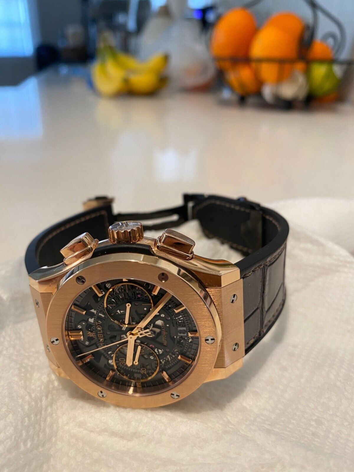 hublot rose gold classic fusion - watch picture 1