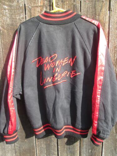 DEAD WOMEN IN LINGERIE 1990 Film Crew Jacket MAURA TIERNEY JOHN ROMO