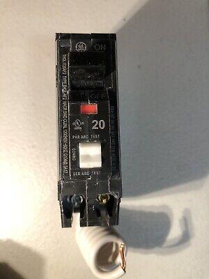 Ge Thql1120af2 Arc Fault Circuit Breaker 20a 1 Pole 120240v 10ka Black