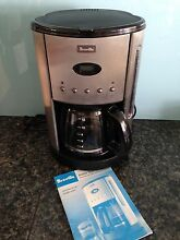 Breville Aroma Style Electronic Coffee Machine with Timer Bligh Park Hawkesbury Area Preview