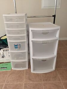 Rubbermaid storage units