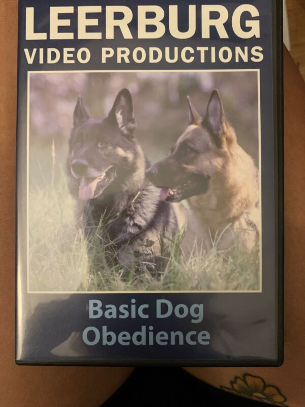 Leerburg Video Productions: Basic Dog Obedience DVD (2008) MINT Schutzhund Ox