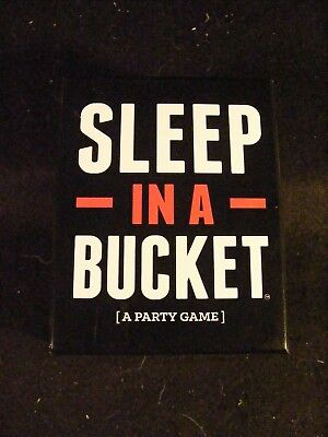 Sleep In A Bucket From Drunk Stoned Stupid Games  2017  For Ages 17