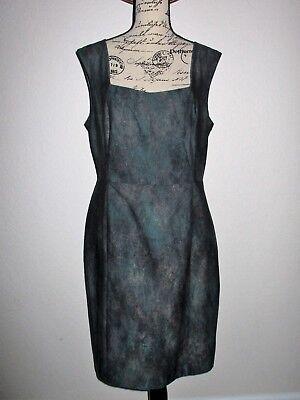 PORTS 1961 Sleeveless Cotton Blend Dress- Size 12