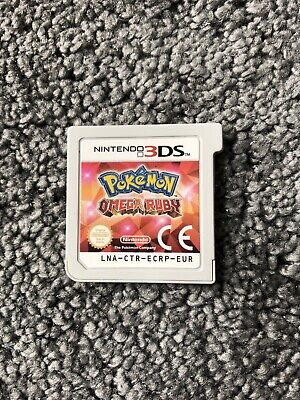Pokémon Omega Ruby Nintendo 3DS Video Game cart only
