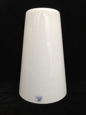 Italy Glass Shade - Murano Vetrarti White Italy Glass Lamp Shade, 9 1/4