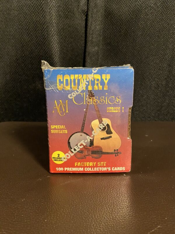 1992 Country Classics ACM | Series 1 Factory Sealed Set | 100 Collectors Cards
