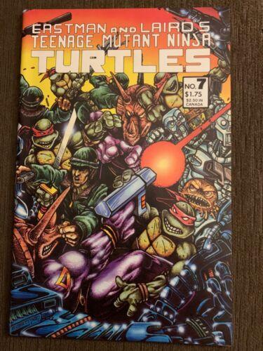 Teenage Mutant Ninja Turtles #7 (1986) Mirage Beauty!