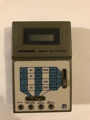 Radio Shack Micronta Dmm Digital Multimeter 22-197