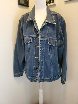 Sonoma Denim/jean Jacket Sz L