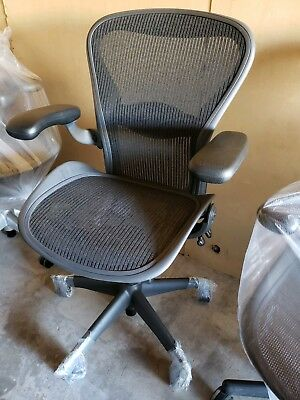 New Wtags Aeron Chair By Herman Miller Fully Loaded Size B