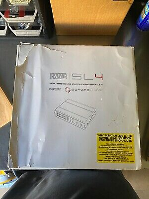 Rane SL4 - 4-Deck Audio Interface For Serato -