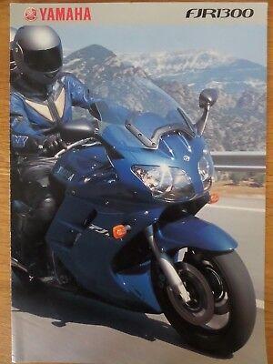 Yamaha FJR1300 Motorcycle Sales Brochure 2001 - 1