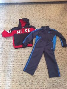 Boys jacket and sport outfit