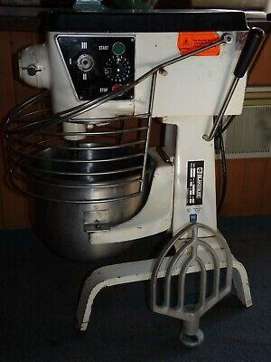 Blakeslee B-20t Commercial Bakery Mixer 20 Quart 110v Paddle Stainless Bowl Ohio