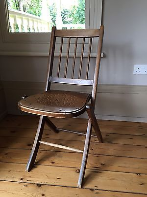 **Lovely Antique Vintage Folding Chair**