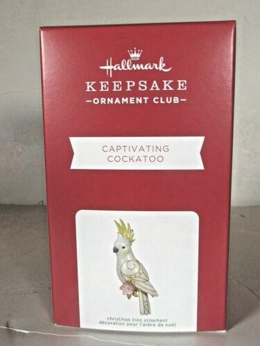 "2021 Club Member exclusive  ""Captivating Cockatoo"" Hallmark ornament"