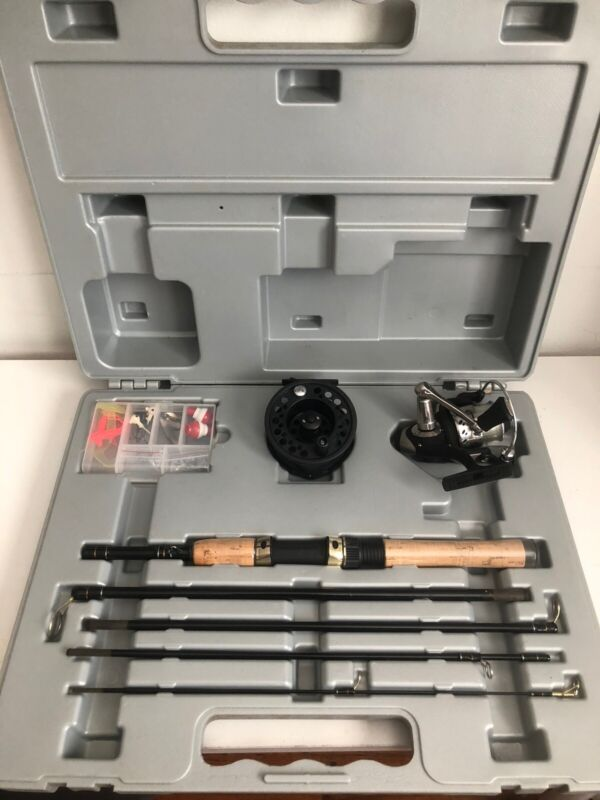 Mitchell Portable Fishing Pole 300xe- Case and Pole
