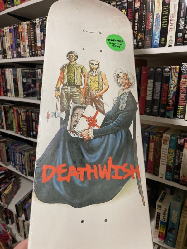 Deathwish Skateboard Deck Mothers Day VHS Troma
