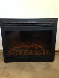 Heater (electric) faux fireplace