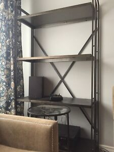 Wicker emporium shelving unit