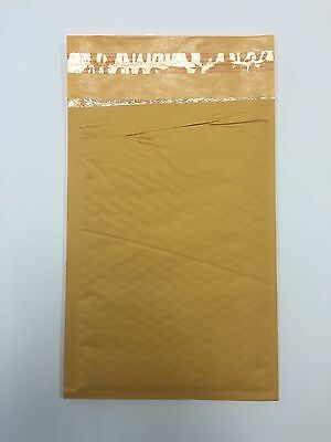 100 4 9.5x14.5 Imperfect Kraft Bubble Mailers Padded Envelop 9.5x14.5